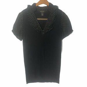 White House Black Market Women's Shirt Small Black